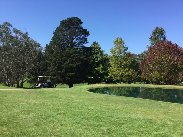 Great Golf in Canberra and the NSW Southern Highlands