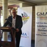 Tony Sernack presenting at the GMA National Roadshow at Lake Karrinyup