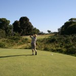 "A ""GolfNutter"" tees off at Kingston Heath"