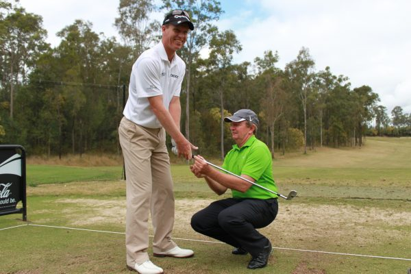 For many players like John Senden (shown here with coach Ian Triggs), building a solid support team is critical