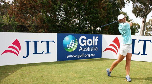 Golf Australia partners JLT