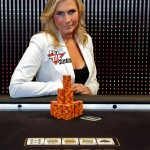 Australia's No 1-ranked female poker player, Jackie Glazier