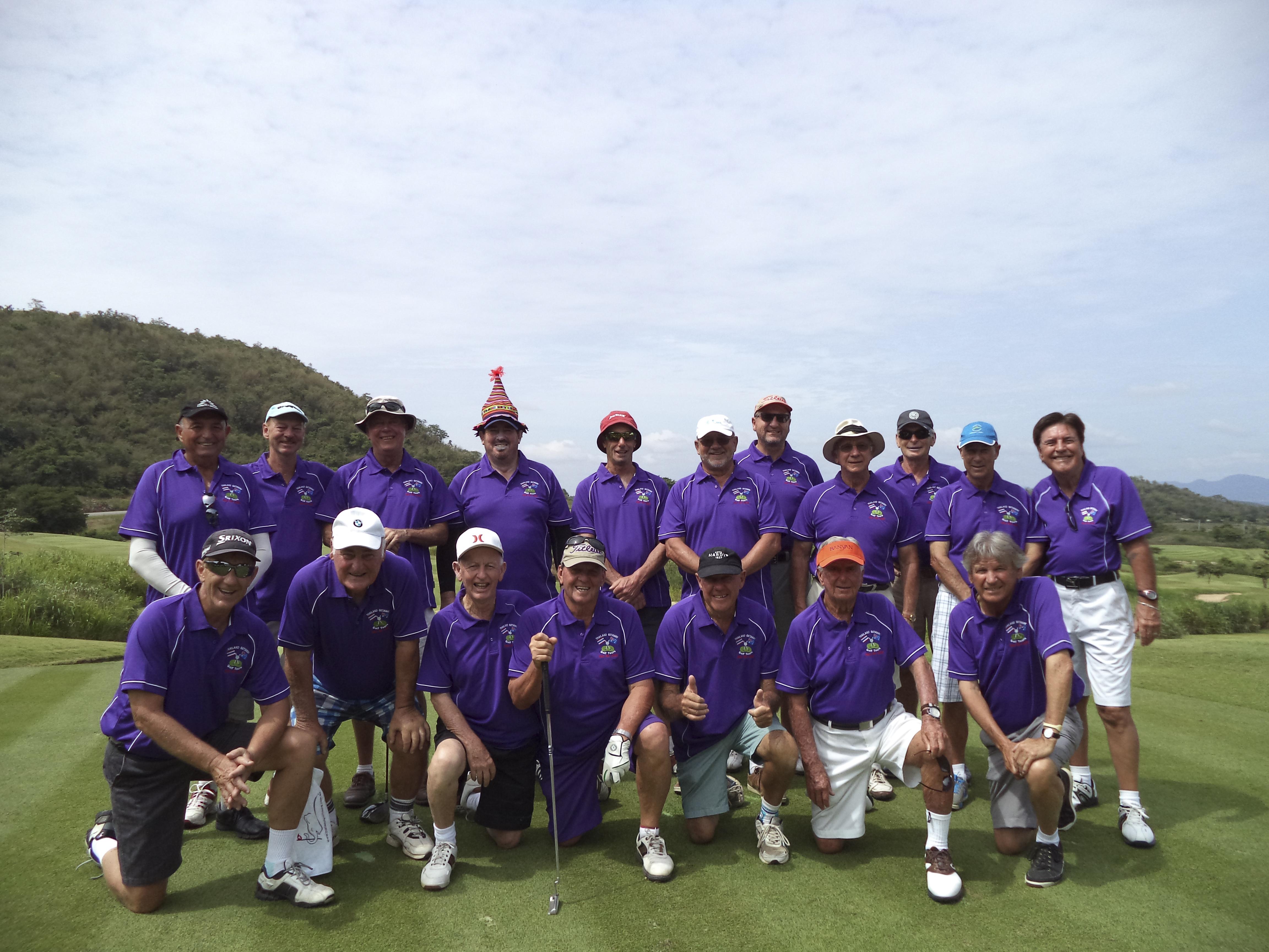 John Dunphys Golf Tour, Banyan Golf Resort, Hua Hin