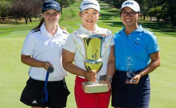 Shin donates ActewAGL Canberra Classic prizemoney to ALPG's Next Generation