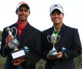 Duncan and Saso storm for Junior Masters wins