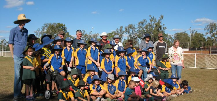 Greg Norman Golf Foundation takes golf to Duaringa