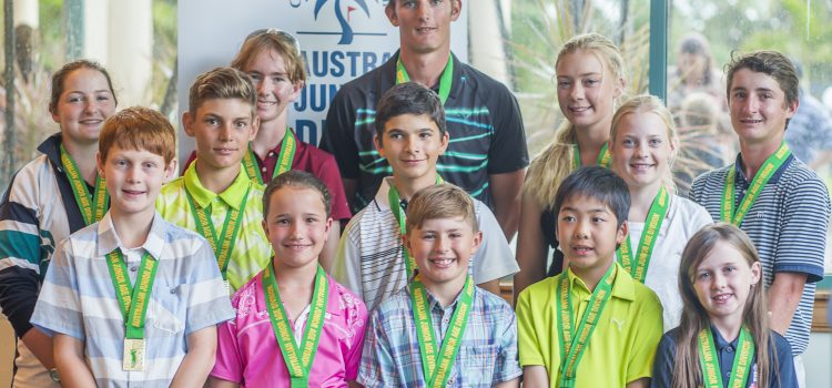 Winners are grinners in Australian Junior Age Division Golf Championship