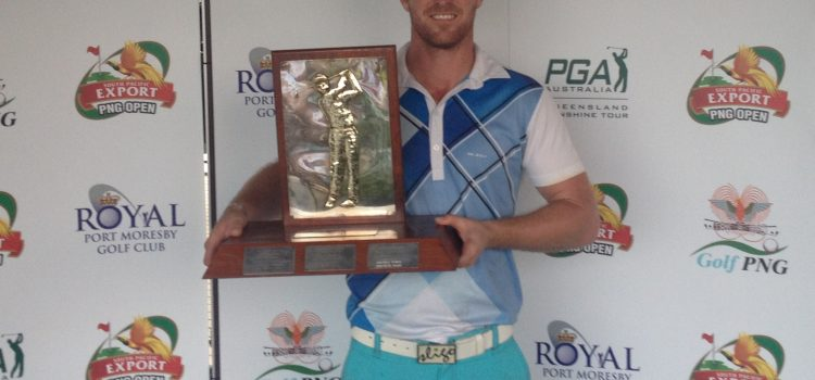Richardson claims PNG Open