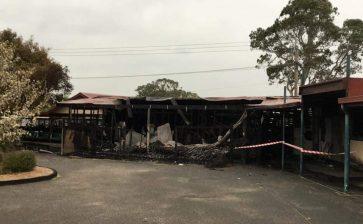 Members take a hit in Keysborough GC fire