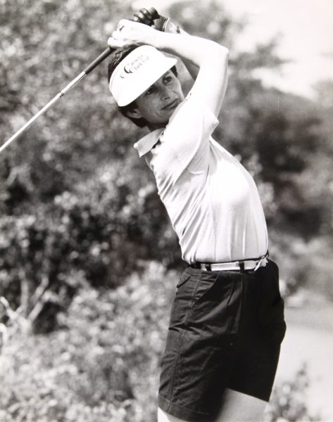 Sweet-swinging Tasmanian Lindy Goggin was the mainstay of Australian women's amateur golf.