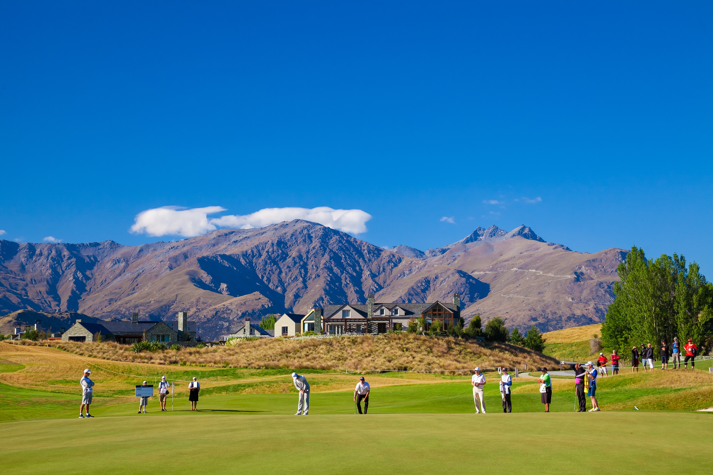 Millbrook Resort Queenstown, home of the ISPS Handa New Zealand Open
