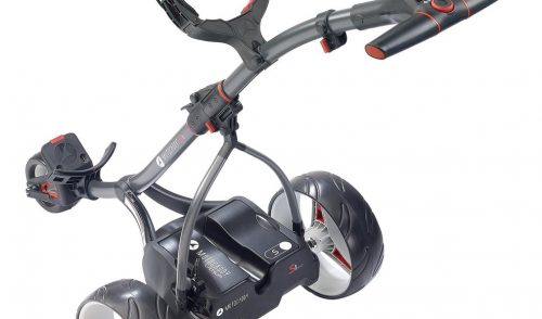 WIN: Motocaddy S1 DHC ELECTRIC TROLLEY