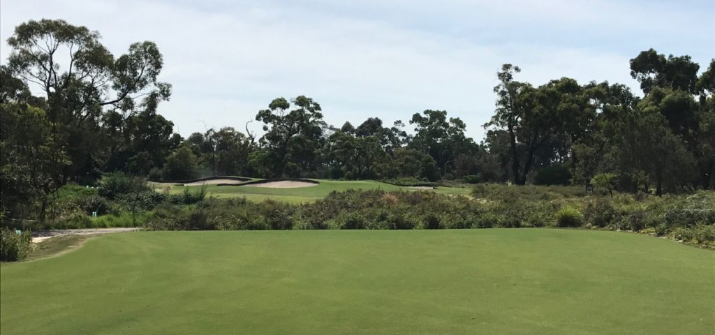 The new 14th at Cranbourne Golf Club