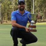 Nick Cullen victorious at the Queensland Open