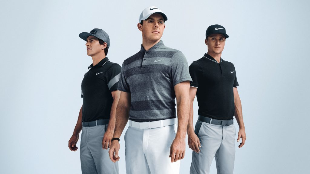 Nike Polos are fashionable even without a collar