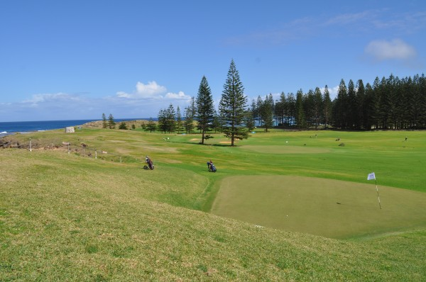 Short and challenging courses and holes (like this one from Norfolk Island) may be the future of golf