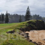 The 4th Tee at Norfolk Island Golf Club