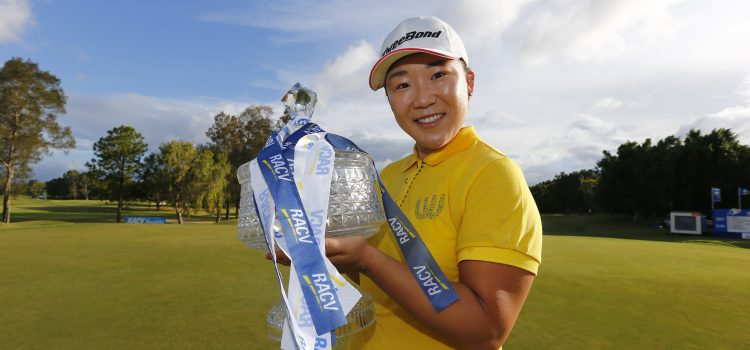 Shin reigns supreme at RACV Ladies Masters