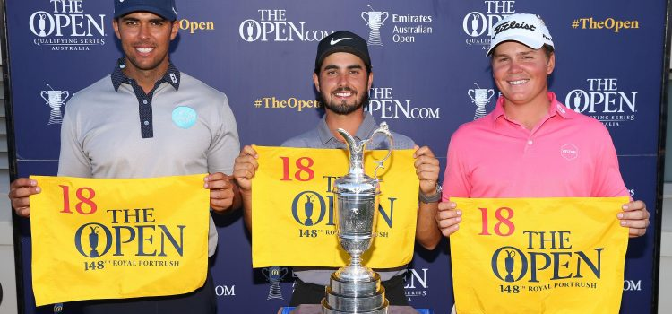Ancer, Papadatos and McLeod Qualify for 148th Open Championship