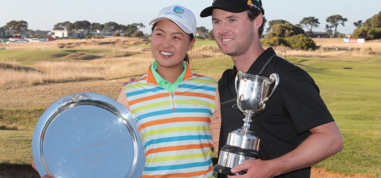 Griffin, Lee victorious at Oates Vic Open