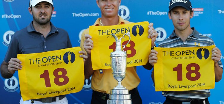 Senden, Gibson and Macpherson qualify for The Open