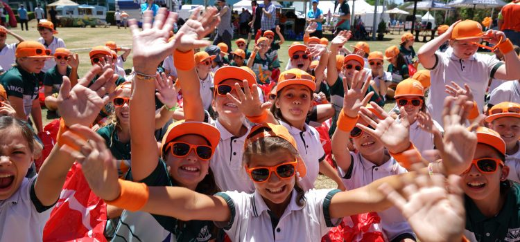 Orange Crush day gets kids into the game