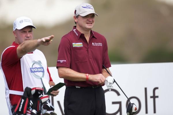 (photo: Volvo in golf, Michael Denker)