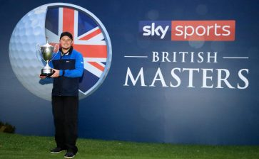 Pepperell wins  British Masters, Aussie Herbert T3