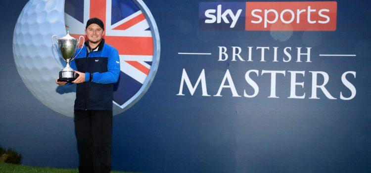 Pepperell wins  British Masters, Aussie Herbert T3