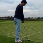 Checking your putter length