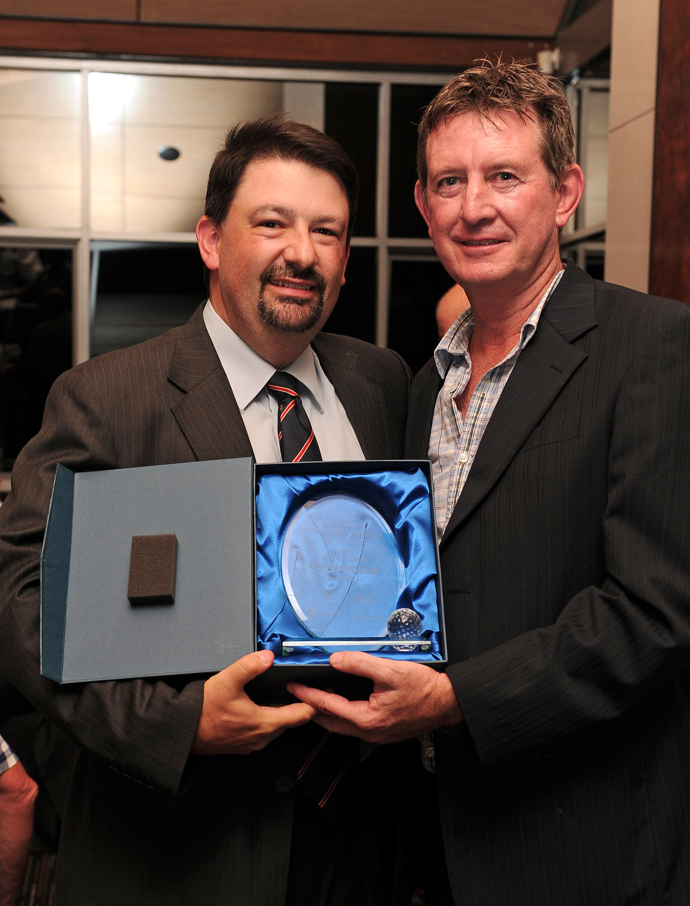 Inside Golf editor wins esteemed Golf Media Award