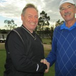 Sanctuary Lakes' Ron Gauci and Kevin Birtles