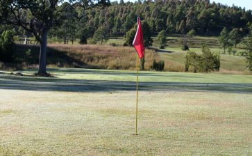 Golf in a small, NSW rural village