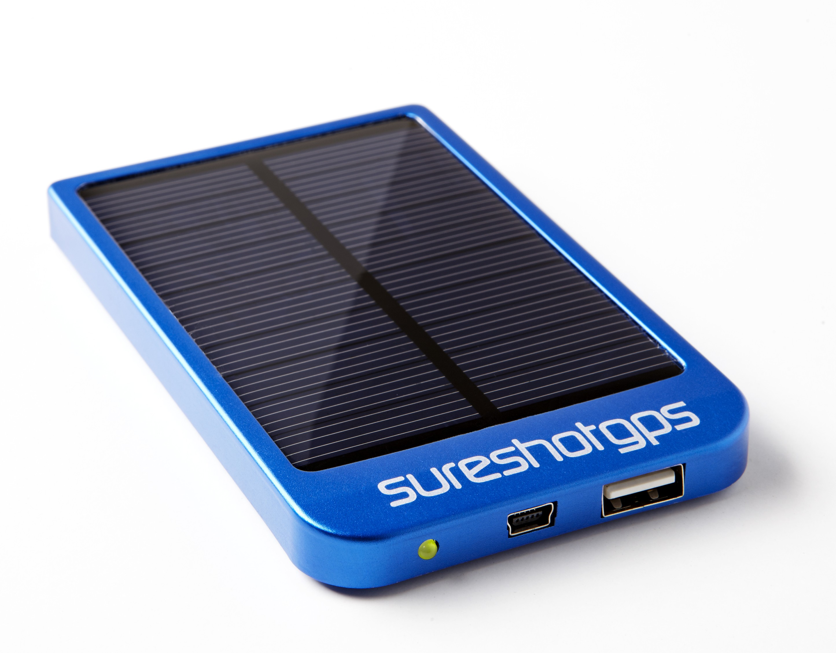 Sureshotgps SS Solar Power Pack Blue Flat