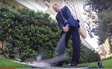 Video: Golfer sparks massive wildfire with Titanium golf club
