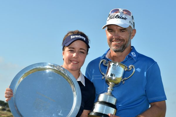 oates Vic Open champions, Hall and Long