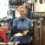 Let's talk golf, says Vikki
