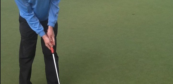 Constant grip pressure is the key to putting