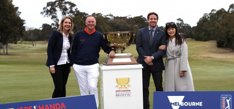ISPS HANDA returns as sponsor of the Melbourne World Cup of Golf