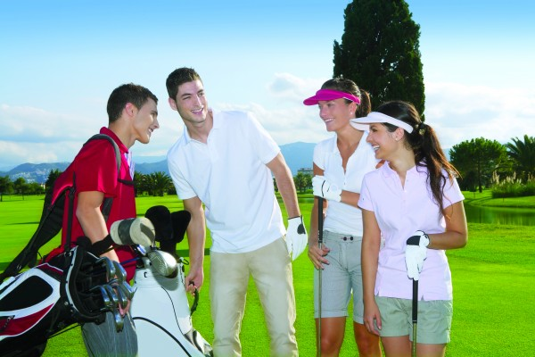 Golfers tee it up for Golf MONTH