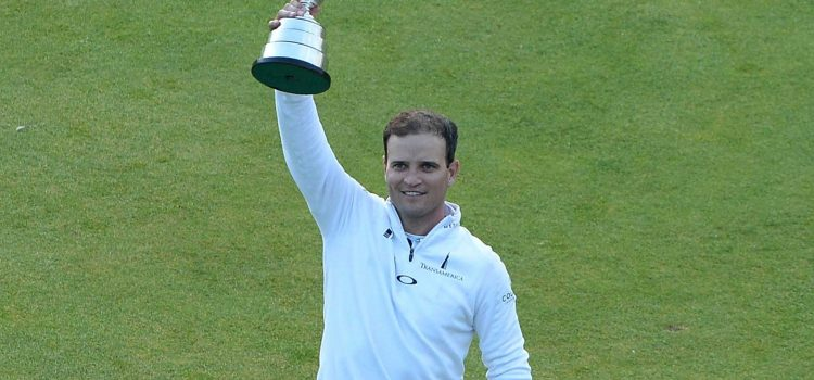 Zach Johnson captures Claret Jug, Leishman pipped in playoff