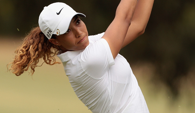 Cheyenne Woods starts Aus tour at 13th Beach