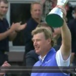 Video: Els captures Claret Jug; Scott stumbles