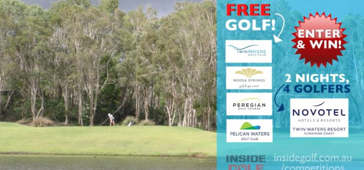 WIN: A golfing trip for four to the Sunshine Coast