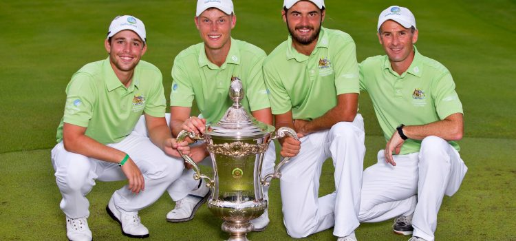 Australia captures the Eisenhower Trophy in style
