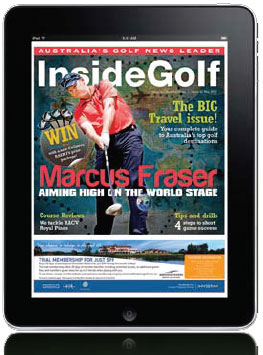 Inside Golf launches iPad App; boosts print circulation