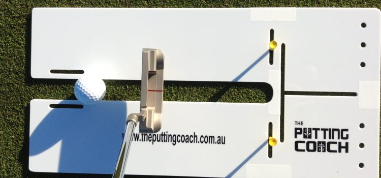 Starting your putts consistently on line