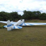 The glider that made the emergency landing on a Perth driving range