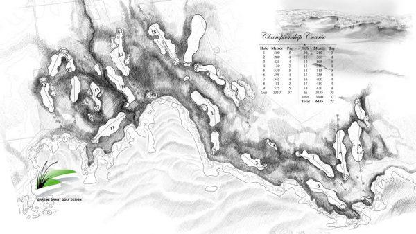 Ocean Dunes' layout