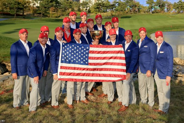 The victorious USA Presidents Cup team (Photo: Presidents Cup)
